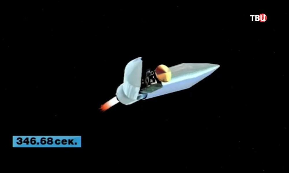 """Ракета """"Протон-М"""" с аппаратами российско-европейской миссии ExoMars-2016"""