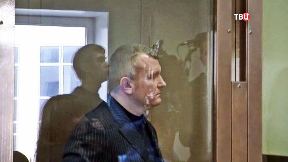 Лидер ОПГ, Андрей Сафронов в суде