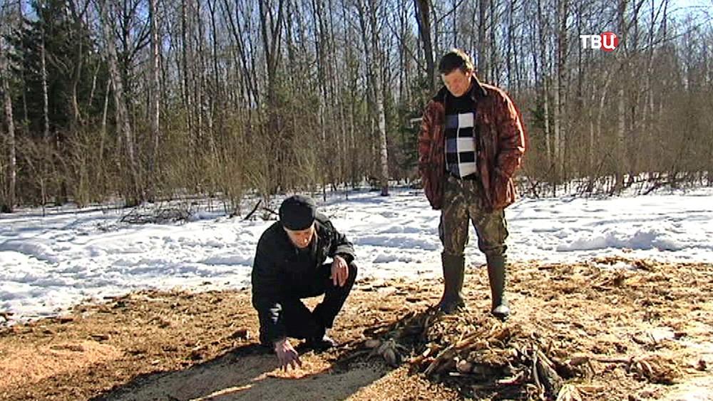 Эксперты нашли ловушку браконьеров