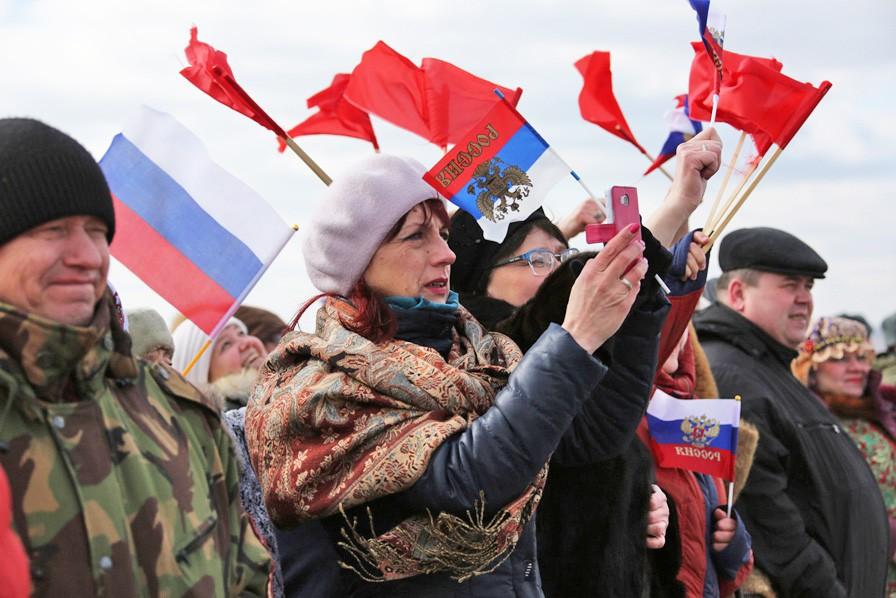 Встреча прибывших экипажей ВКС России из Сирии