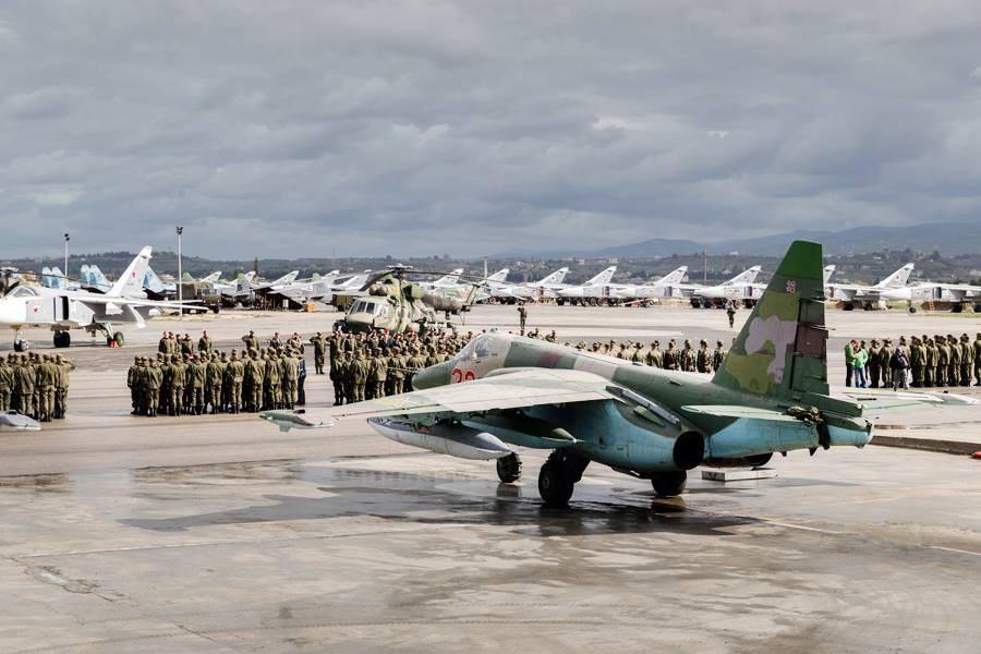 Авиабаза ВКС России в Сирии