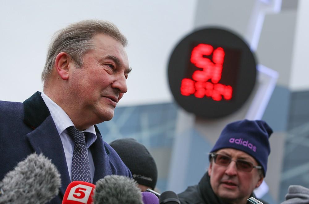 Президент Федерации хоккея России, трехкратный олимпийский чемпион Владислав Третьяк