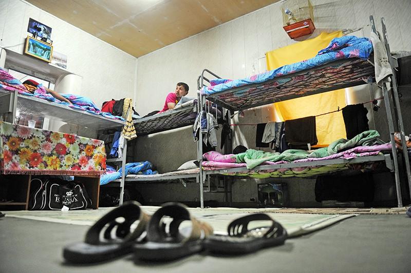 Хостел для мигрантов