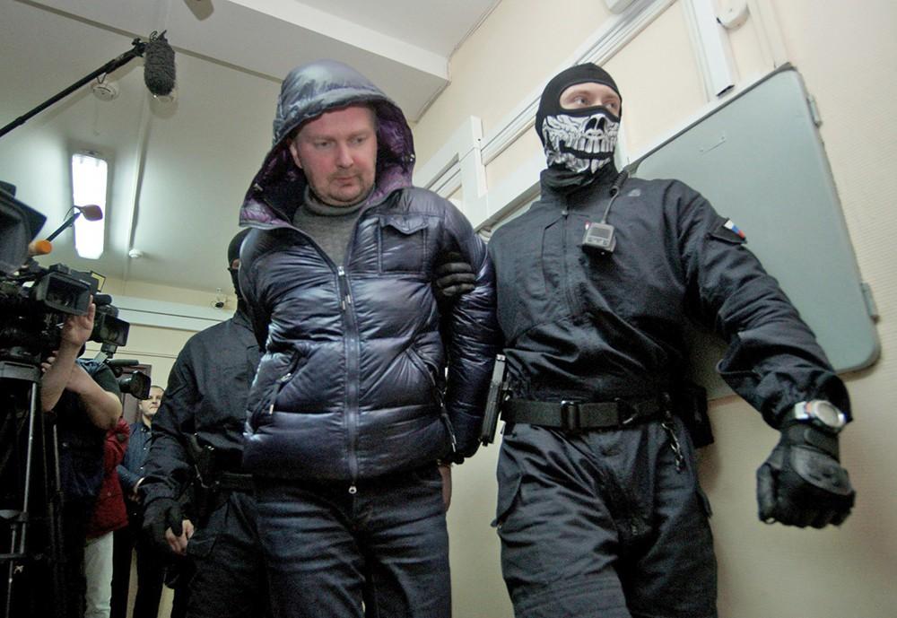 Александр Коченов в суде по делу о хищении госсредств, выделенных на реставрацию объектов культурного наследия