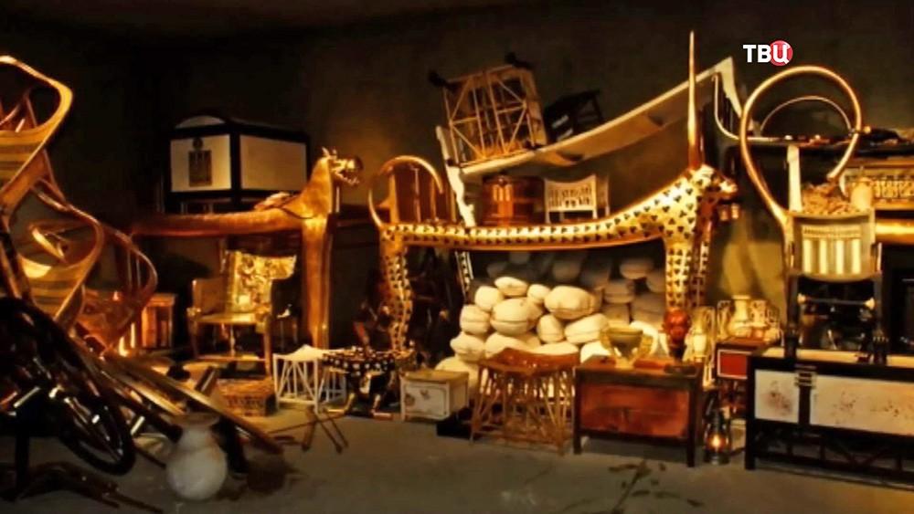 Содержимое гробници фараона