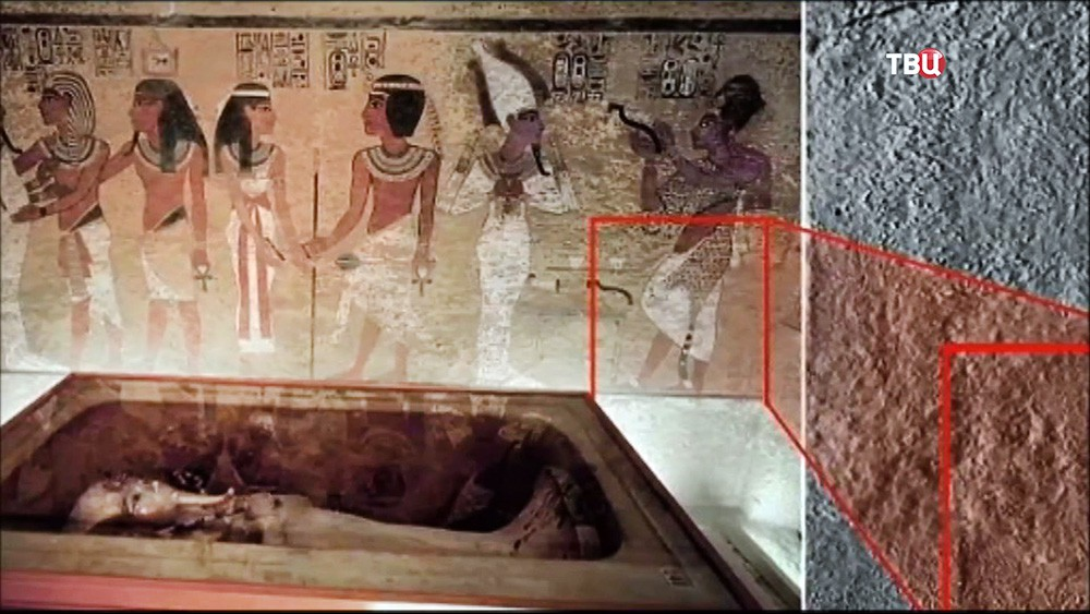 Новые помещения в гробнице Тутанхамона