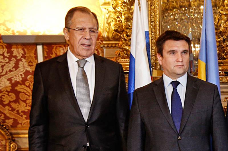 Сергей Лавров и Павел Климкин