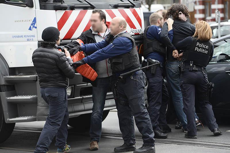 Задержание подозреваемых в соучастии подготовки терактов в Брюсселе