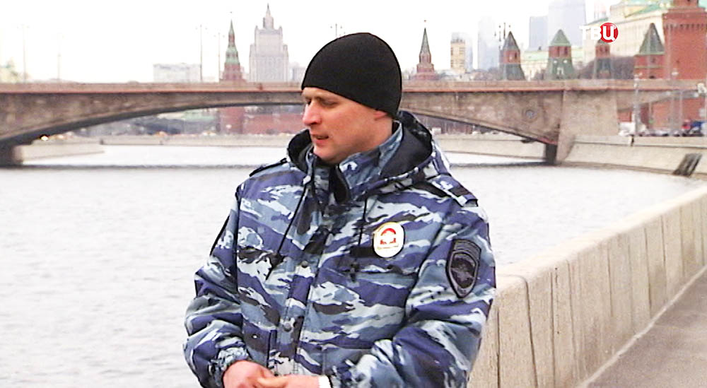 Сержант ОМОНа Александр Шевцов