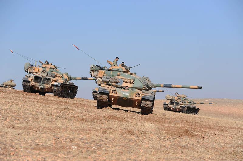 Танки турецкой армии