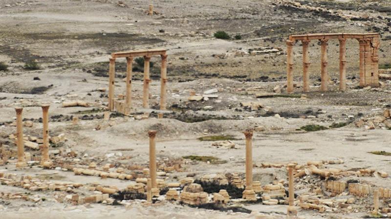 Древняя часть города Пальмира