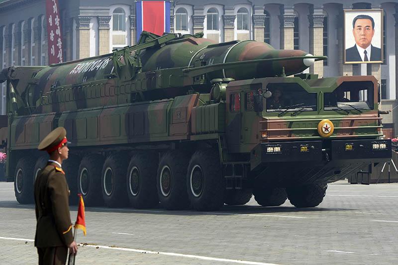 Зенитно-ракетный комплекс стратегического назначения КНДР