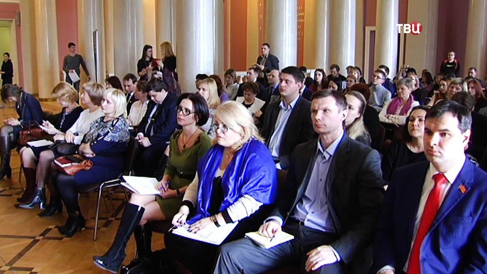 Выборы руководителя Общероссийского движения школьников