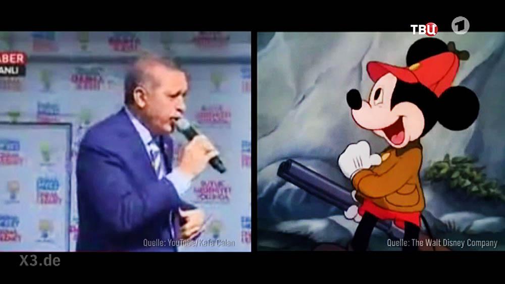 """11 МИД Турции вызвал """"на ковер"""" посла ФРГ из-за сатиры на Эрдогана"""