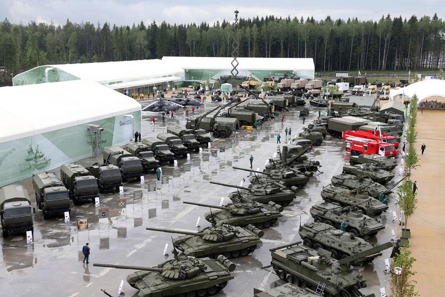 Выставка российского вооружения