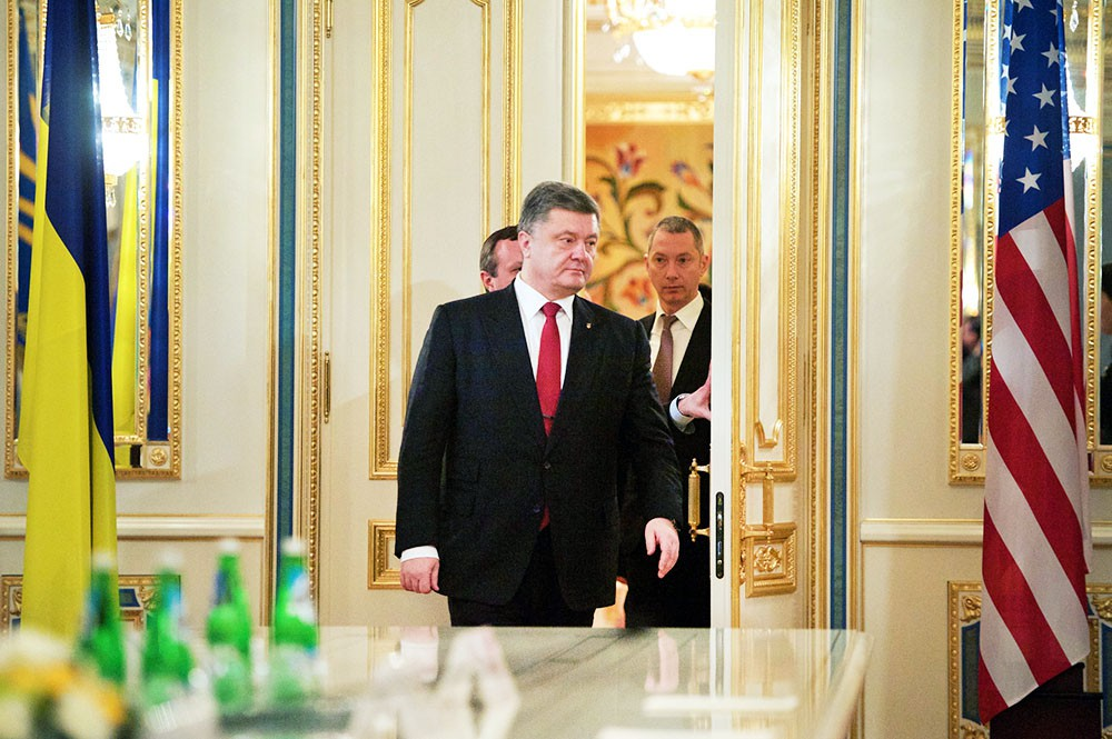 Президент Украины Пётр Порошенко