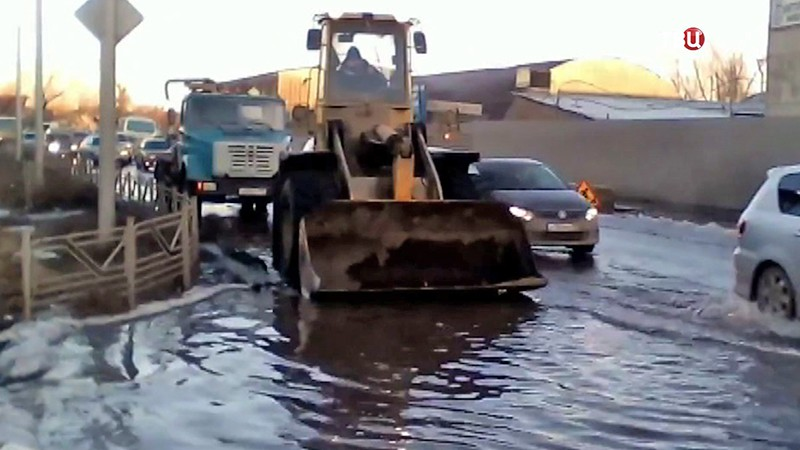 Последствия паводка