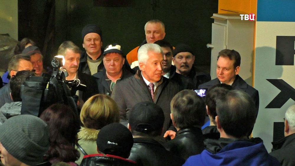 Зампредседателя Госдумы Владимир Васильев посетил предприятие