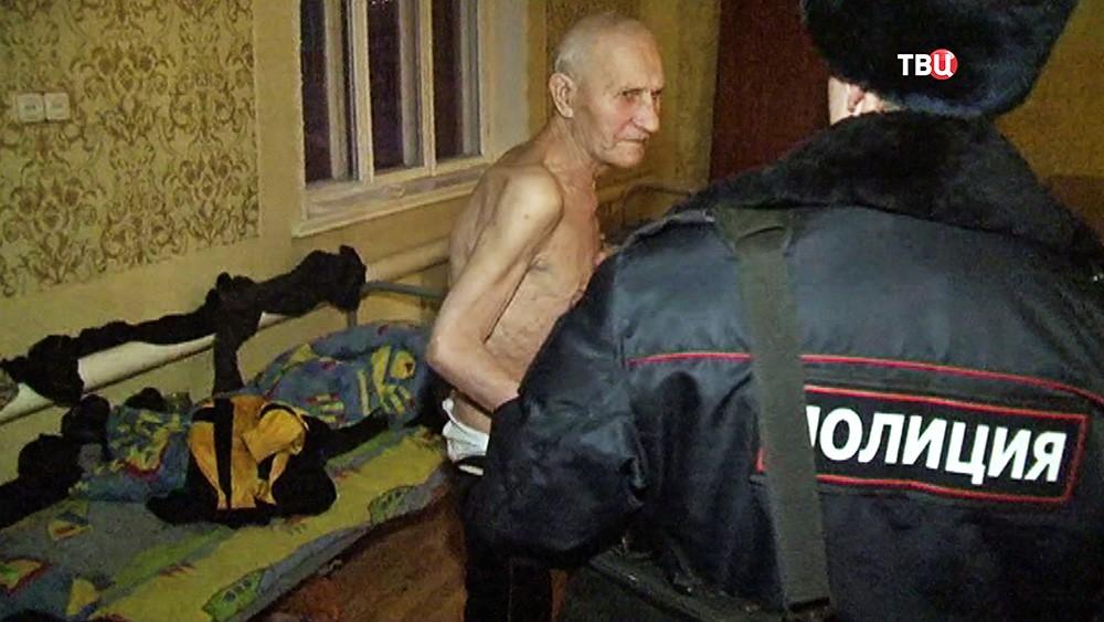 """Полиция посетила социальный приют """"Дом старчества"""""""