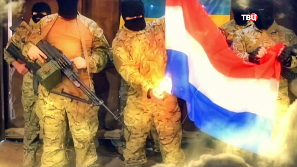 Кадры ролика против ассоциации ЕС и Украины