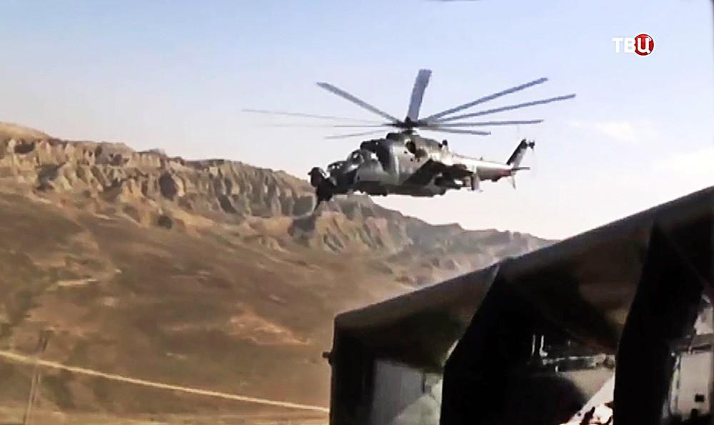 Вертолет ВВС Азербайджана