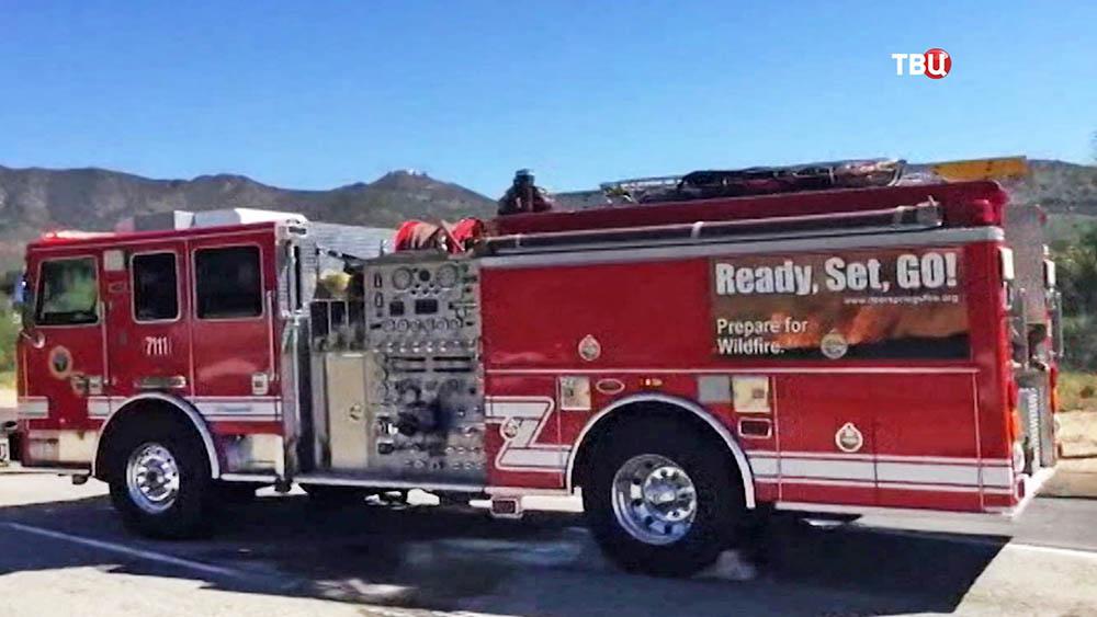 Пожарная машина в США