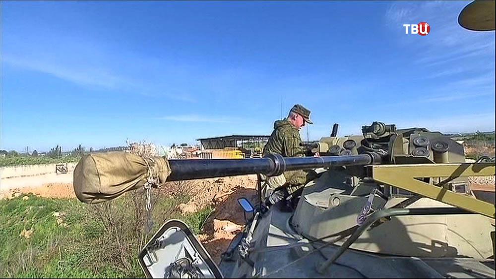 Саперные войска российской армия в Сирии