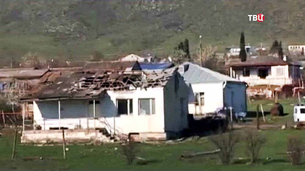 Последствия военных действий в зоне карабахского конфликта