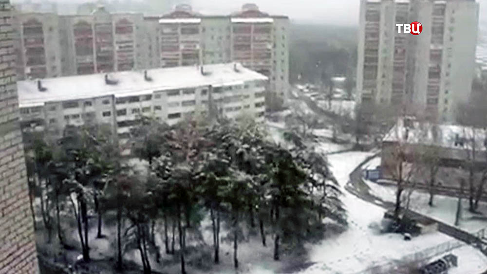 Последствия снегопада