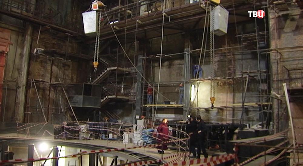 Реконструкция Малого театра