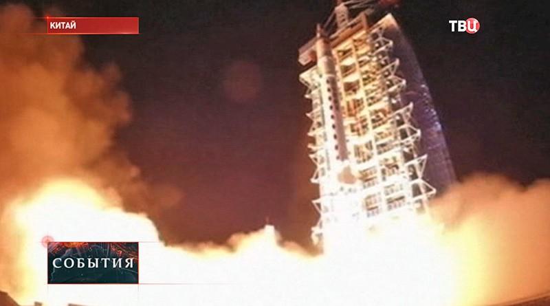"Запуск спутника ""Шицзянь-10"""