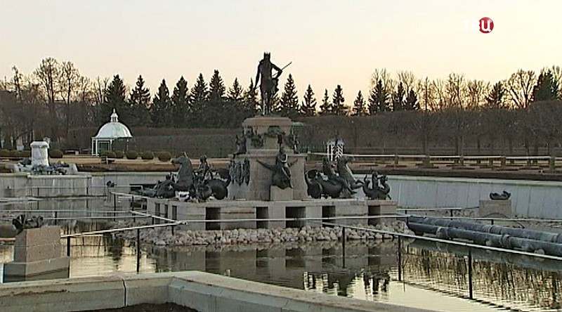 """Реставрация фонтанного комплекса """"Нептун"""""""