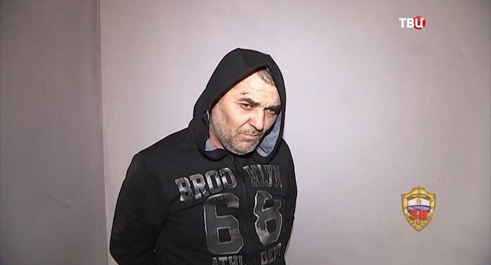 Задержанный 45-летний уроженец Средней Азии