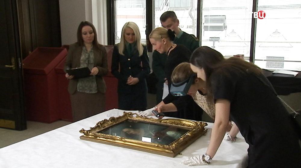 Передача картин Третьяковской галереи из собрания Национальной галереи Лондона