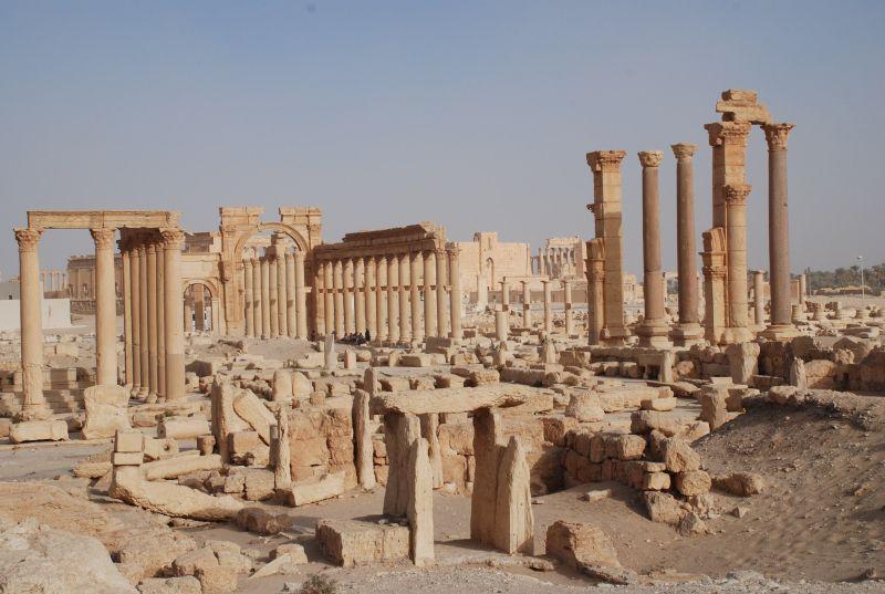 Пальмира. 2008 год