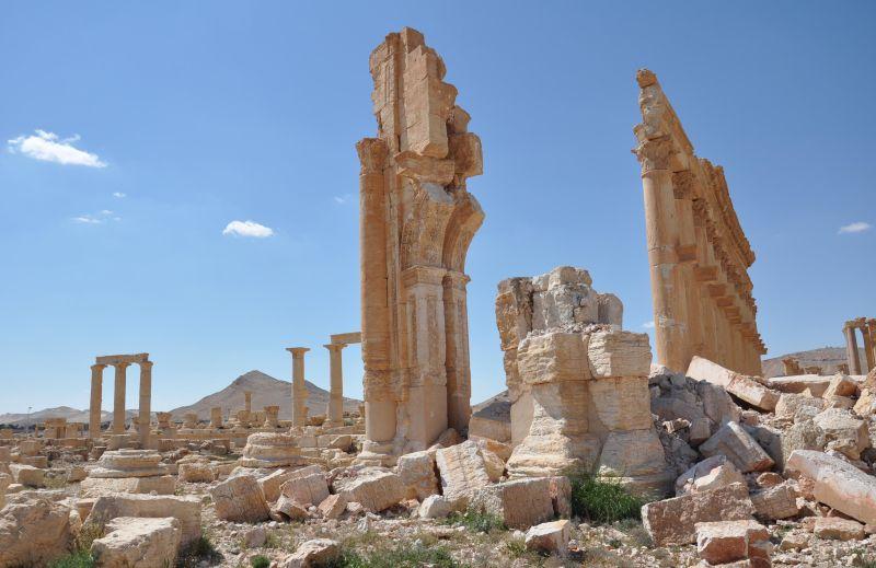 Большая колоннада (после ИГ)
