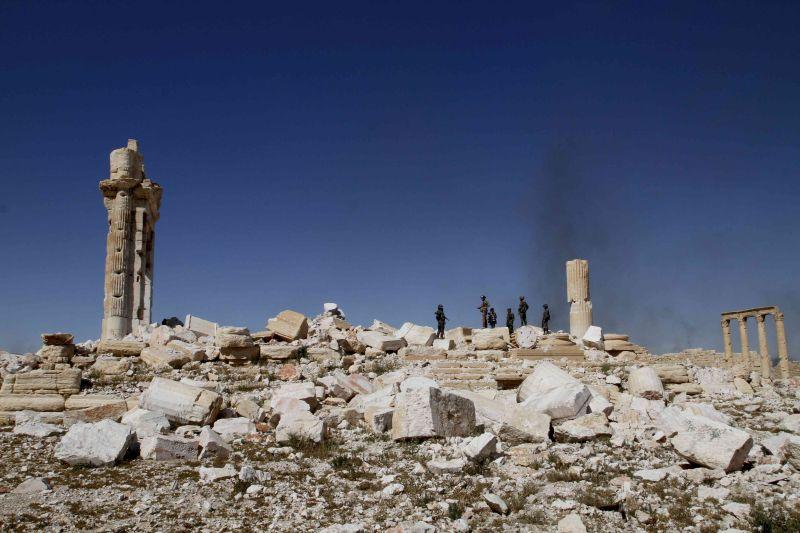 Руины храма в Пальмире