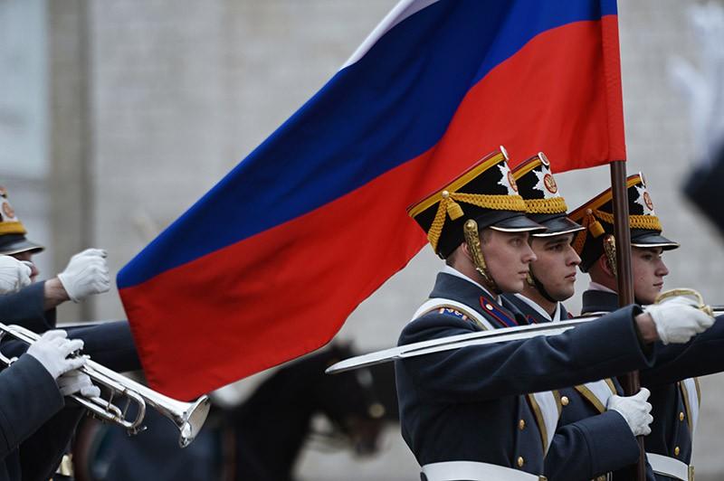 Военнослужащие Президентского полка