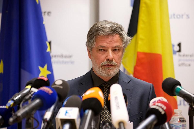 Федеральный прокурор Бельгии Эрик ван дер Сирт