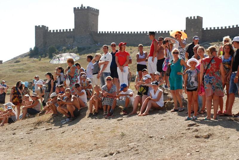 Генуэзская крепость в Судаке в Крыму