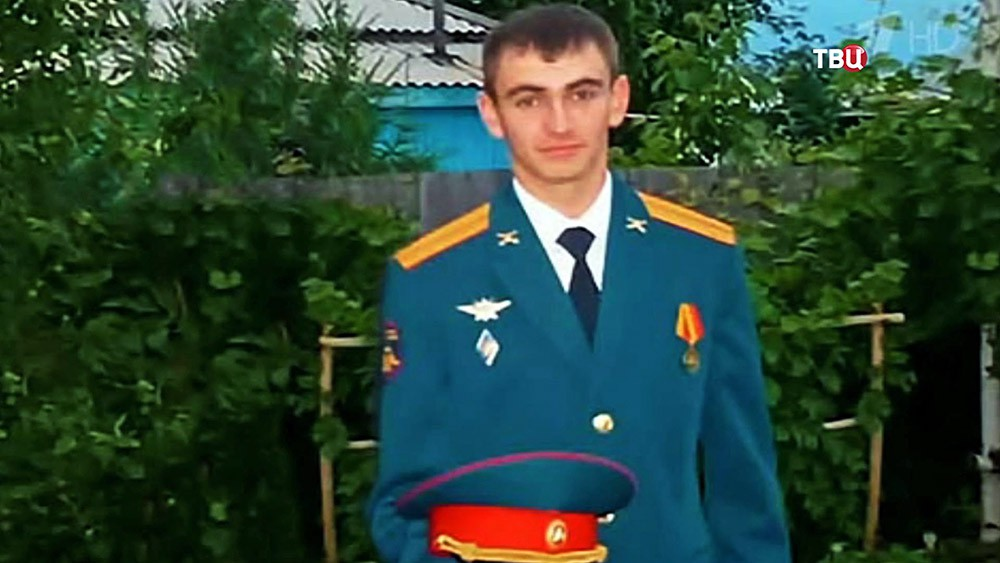 Погибший в Сирии старший лейтенант Александр Прохоренко