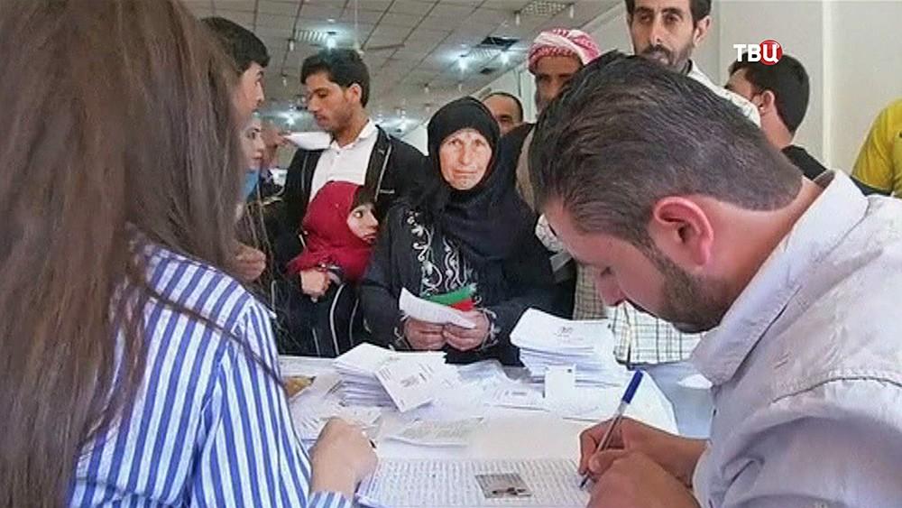 Выборы в Сирии
