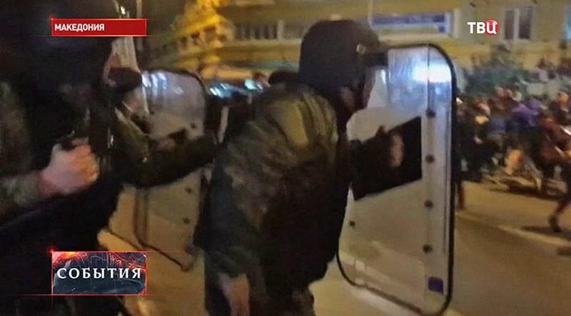 Полиция Македонии