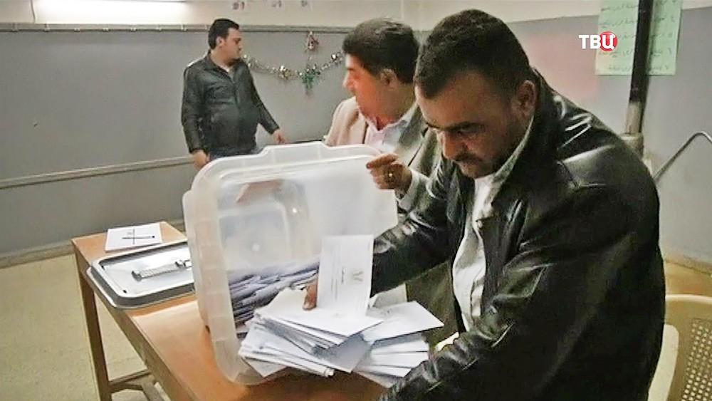 Результаты выборов в Сирии