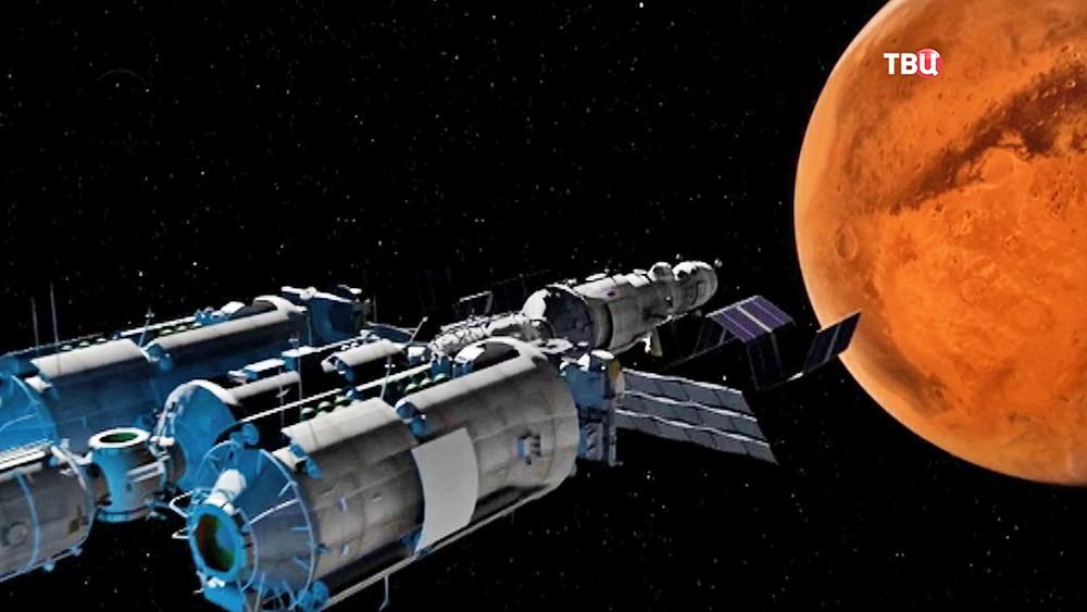 Модель пилотируемой миссии на Марс