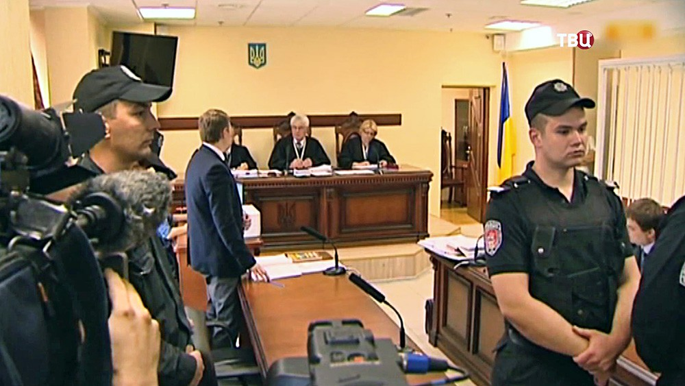Суд по делу убийства журналиста Олеся Бузины