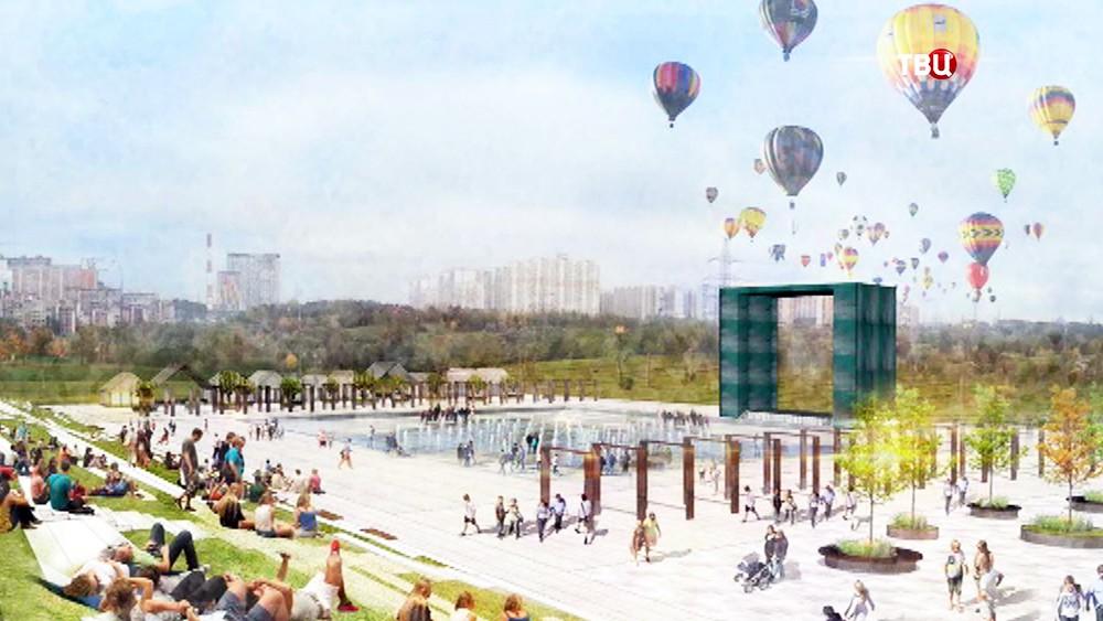Летом в парках москвичей ждут необычне развлечения