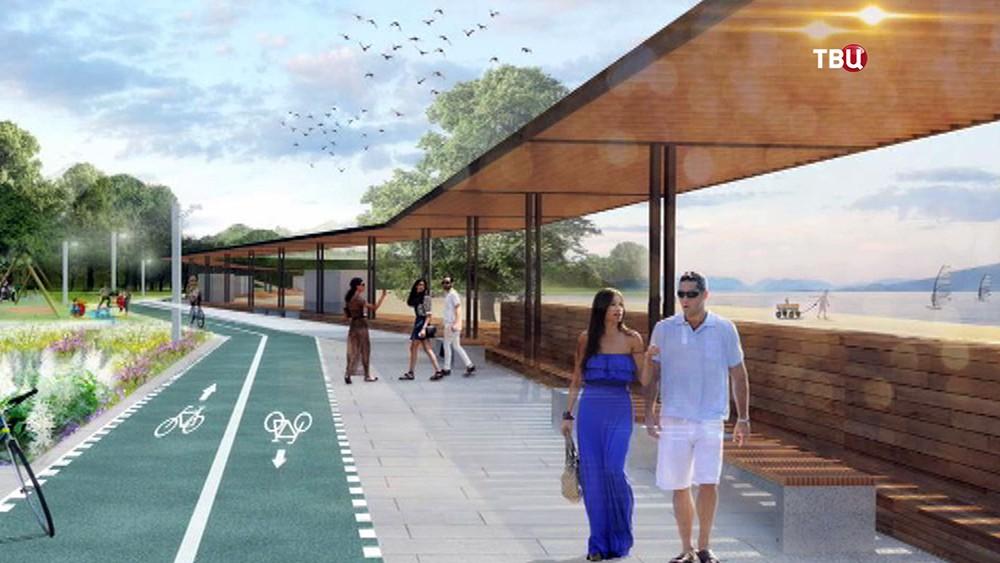 Проект развития парка