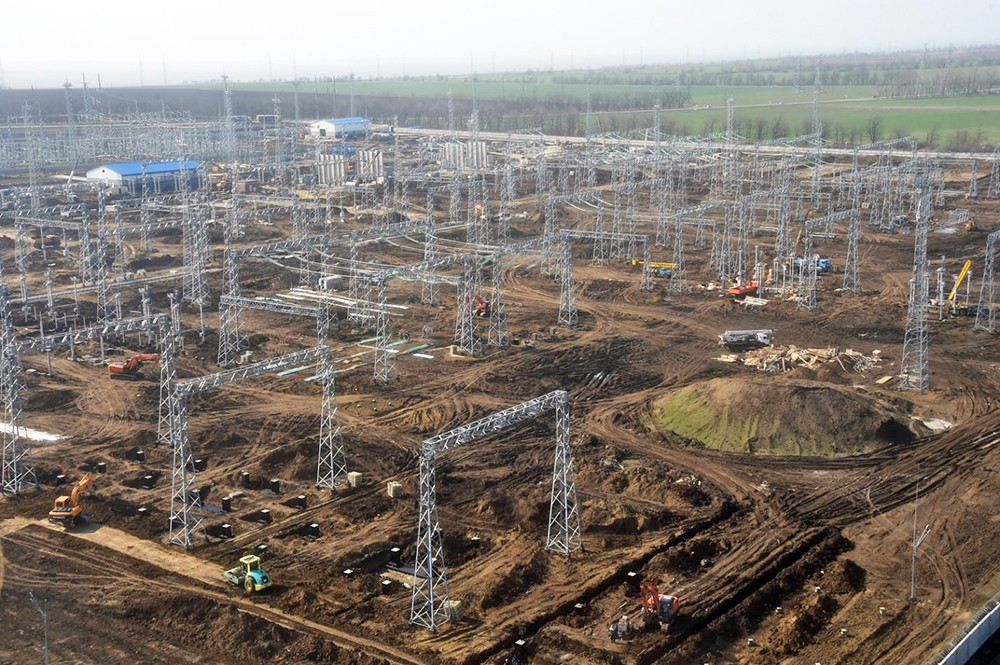 Энергомост в Крым