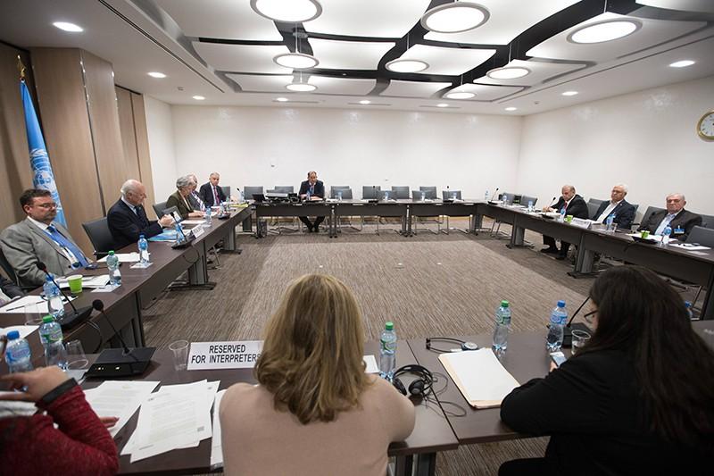 Переговоры в Женеве по Сирии